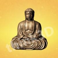 Sitting Buddha Figurine 1