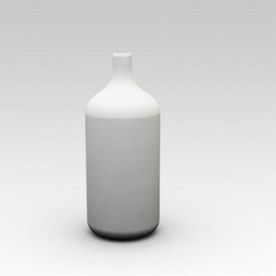 Bottle shaped designer flower vase