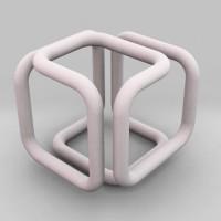 Pendant of cubical wonder