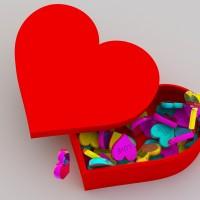 heart 3D printed box