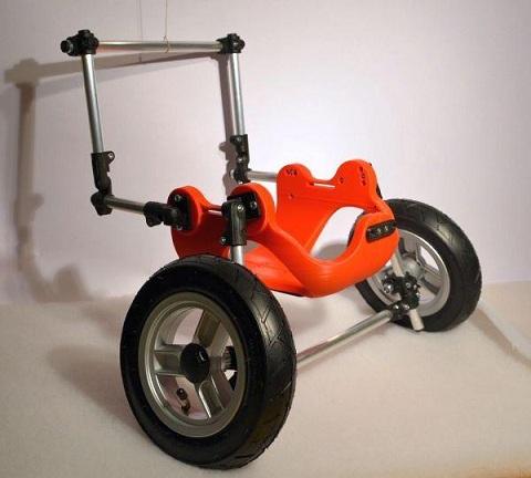 3D printed wheelchair