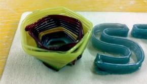 3D printed glass bowl