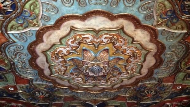 3D printed ceiling - Aztec