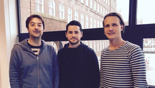 The team: Merijn, Tim and Rutger