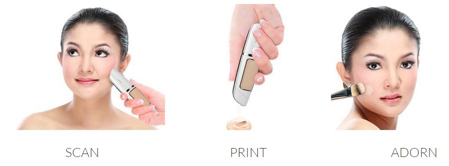 Adorn, Portable 3D Makeup Printing Pen