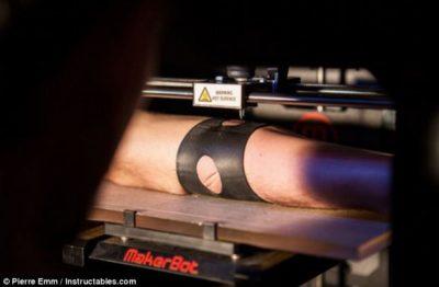 3d printer for permanent tatoo