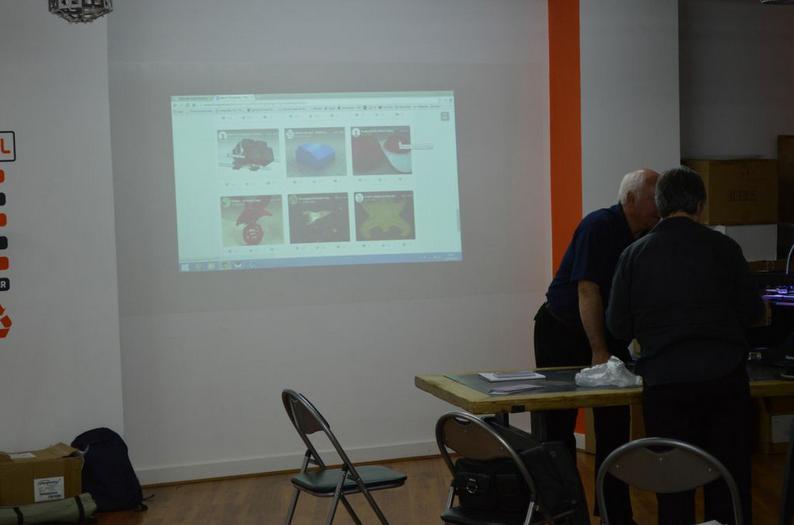 imakr training session