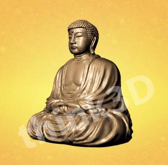 Sitting Buddha Figurine 2