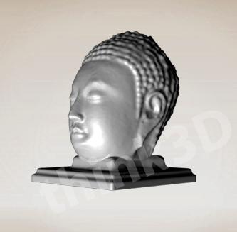 Buddha Statue Head 2