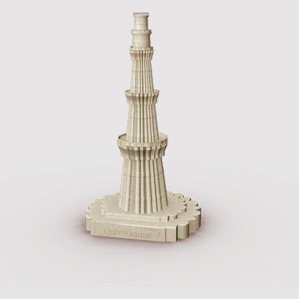 Qutub Minar Miniature Think3d