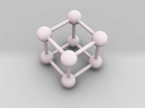 Ideal crystal lattice