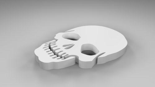 Caveira 3D model