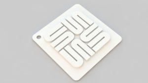 Sun micro system key chain/pendant