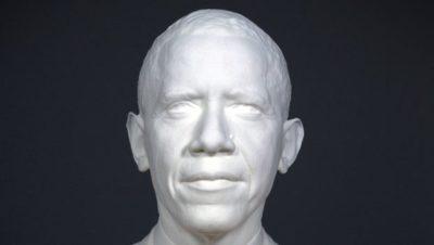 Barrack Obama in 3D