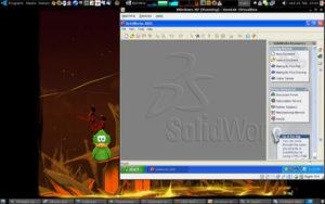solidworks 3d cad modeling software