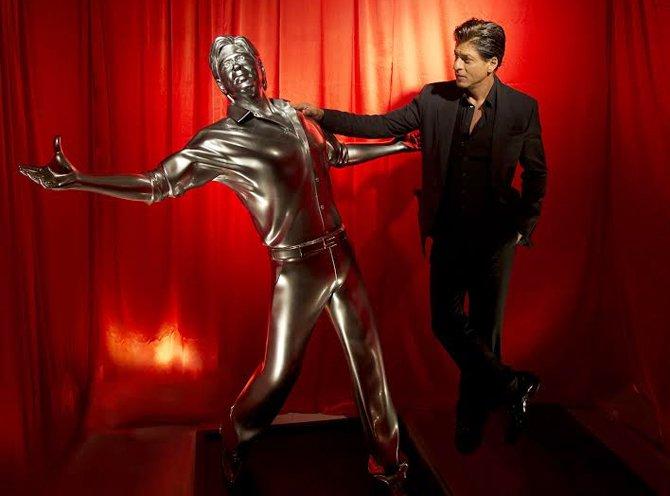 Shah Rukh Khan with 3D Print