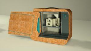 Pbag - Portable 3D printer