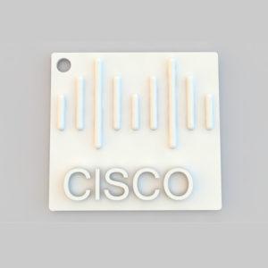 cisco key chain 3d model printer