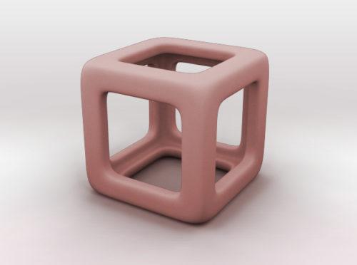 Cube Paper Weight 3d printer model