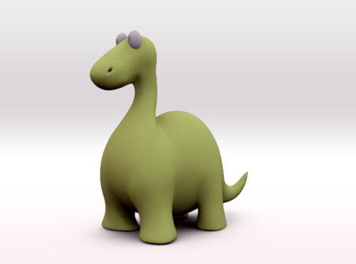 Dinosaur 3d model printer