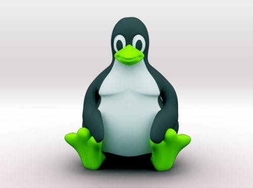 penguin 3d printer model