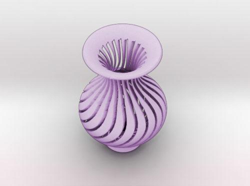 spiral vase 3d printer model