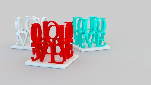 3D Printed Love