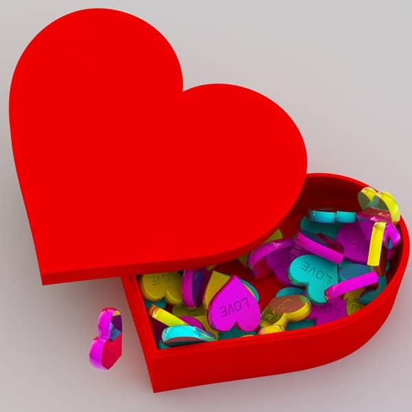 Lovely Heart Shaped Box | thin...