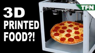 3D printed food doubt