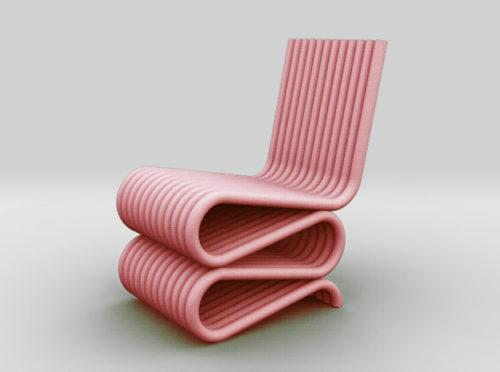 Furniture Chair 3D Miniature Model