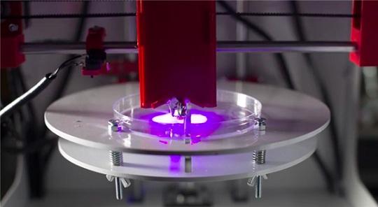 Bioprinting at Michigan Tech University Lab