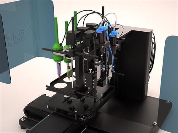 First 3D printed thyroid gland-Bioprinter