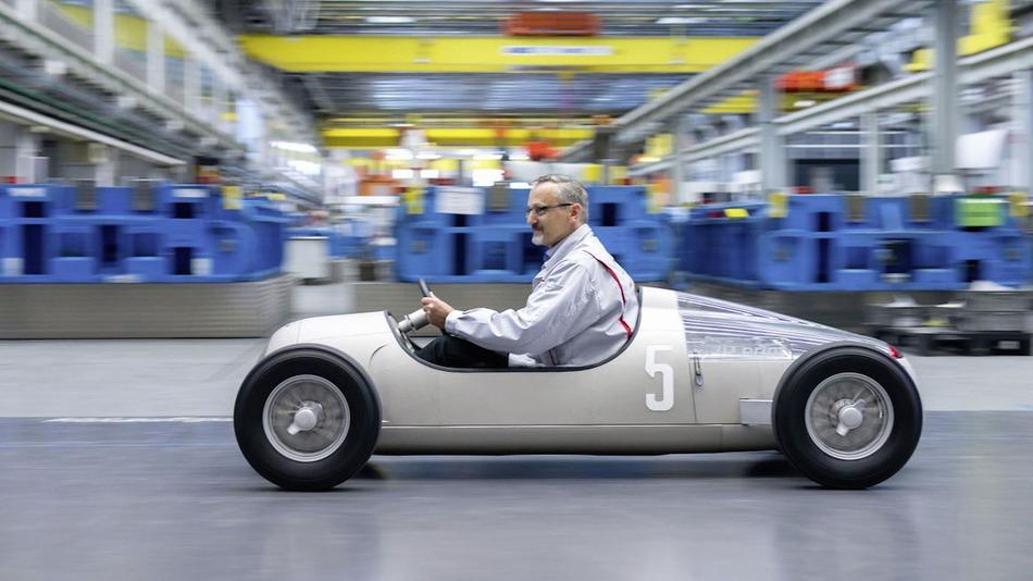 Audi 3D Printed 1936 Grand Prix Sports Car
