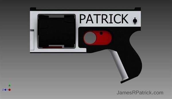 World's First Fully 3D Printed Gun