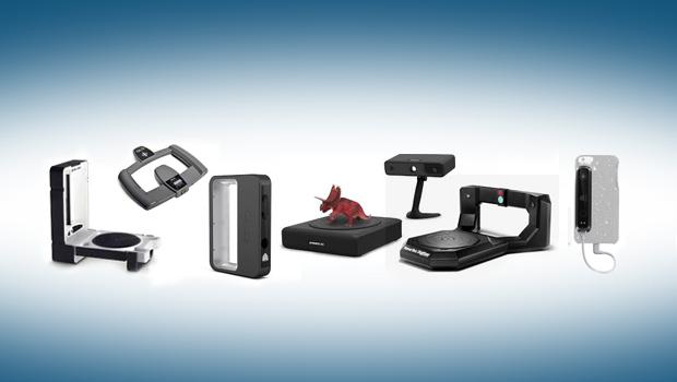 Desktop 3D scanners