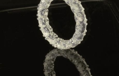 SLA 3D printed sample think3d