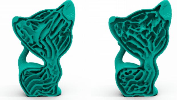 Trabecular bone pattern 3D printing infill Developed